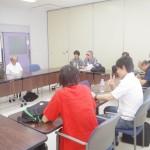 ブラインドスキーの安全対策研修会(2013年8月)
